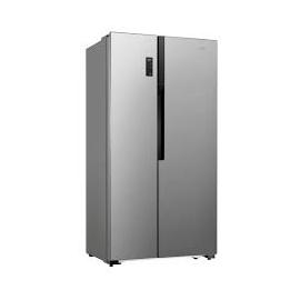 Logik køl/frys LSBSX16E stål