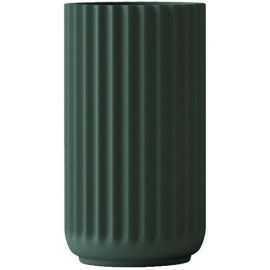 Lyngby Vase H12,5 copenhagen green porcelæn