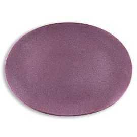 BITZ Fad oval 45x34 cm sort/lilla