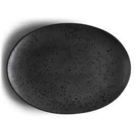 BITZ Fad oval 45x34 cm sort