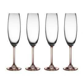 BITZ Champagneglas 4 stk. 22 cl smoke