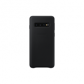 Samsung Galaxy S10, Leather Cover