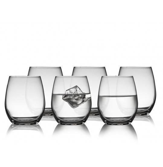 Lyngby Glas Juvel Vandglas 39 cl 6 stk.