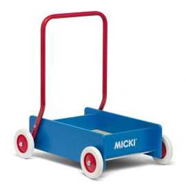 Micki - Gåvogn, blå