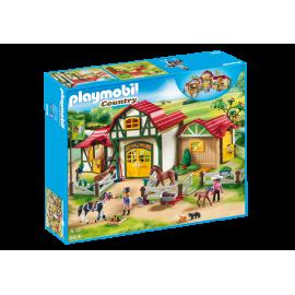 Playmobil - Stort ridecenter