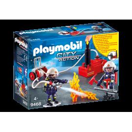 Playmobil - Brandmænd med vand