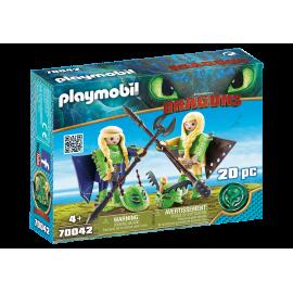 Playmobil - Stenknold og Benkn