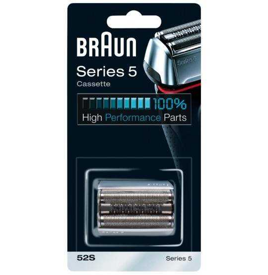 Braun Series 5 kassette 52S - sølv