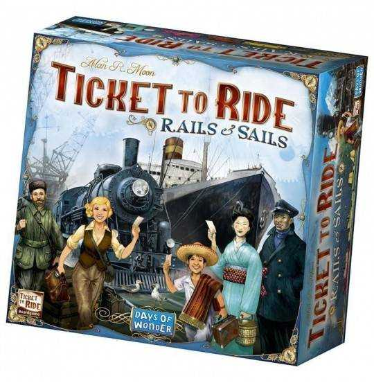 Ticket To Ride - Sails and Rai
