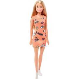 Barbie - Basis Dukke - Orange