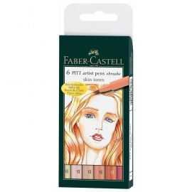 Faber-Castell - 6 pitt Artist