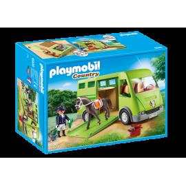 Playmobil - Hestetransporter