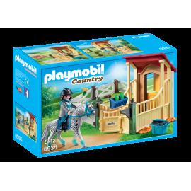 Playmobil - Hestestald med App