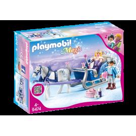 Playmobil - Slæde med kongepar