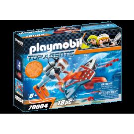 Playmobil - SPY TEAM Subwing