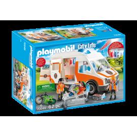 Playmobil - Ambulance med blin