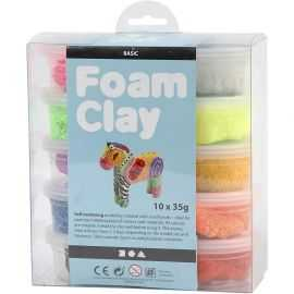 Foam Clay - Ass. Farver - Basi