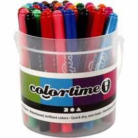Colortime Tusch - Stregtykkels