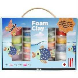 Foam Clay i Kuffert
