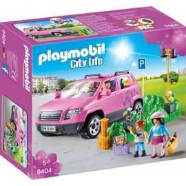 Playmobil - Familie Bil med Pa