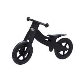 KREA - Løbecykel i træ - Sort