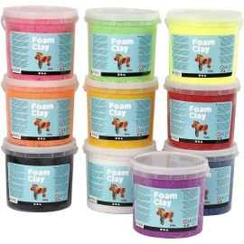 Foam Clay - Assorterede Farver