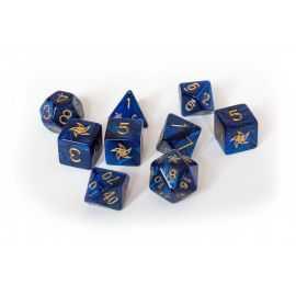 Elder Dice - Set - Blue - Astr