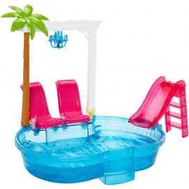 Barbie - Glam Pool sæt