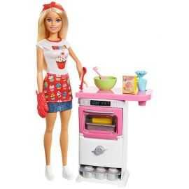 Barbie - Konditor Legesæt