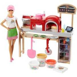 Barbie - Pizza Chef Doll and P