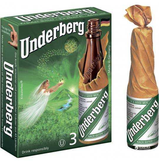 UNDERBERG  3 PAK      44%