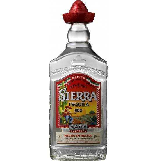 SIERRA TEQUILA SILVER  38%