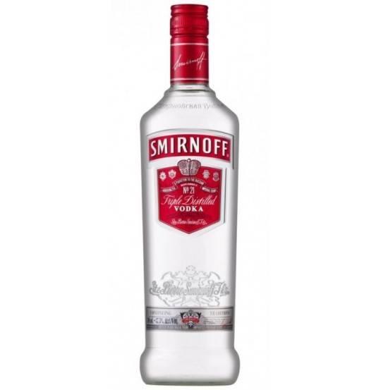 SMIRNOFF VODKA RED   37.5%
