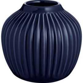 Hammershøi Vase H12,5 indigo