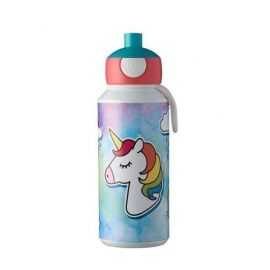 Drikkeflaske Pop-up Unicorn 400ml