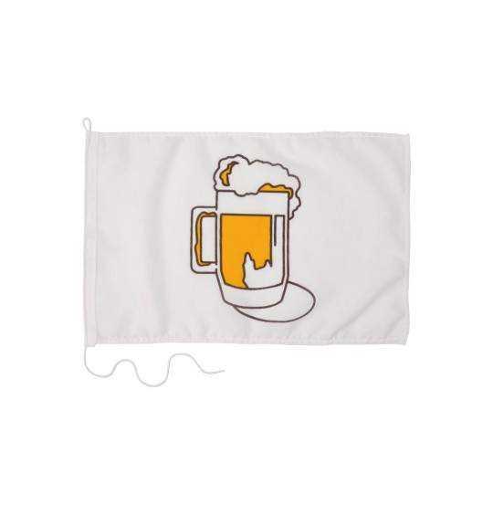 Humørflag Øl 30x45cm