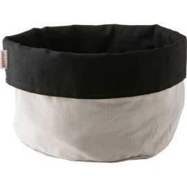 Stelton Brødpose stor sort/sand