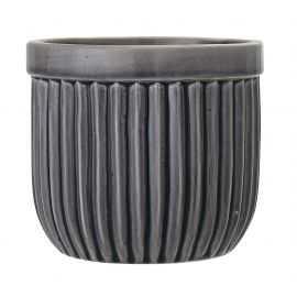 Urtepotteskjuler Ø14,5xH13 cm grå