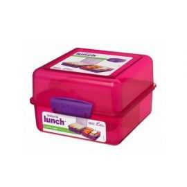 Madkasse Lunch Cube 1,4 L pink