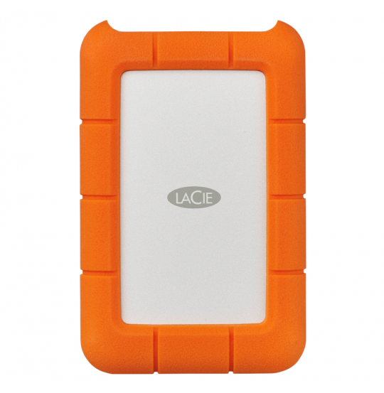LaCie Rugged USB-C 2 TB bærbar harddisk