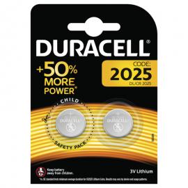 Duracell 2025 Batterier, 2pk