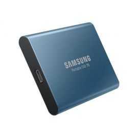 Samsung T5 SSD 500 GB (blå) harddisk