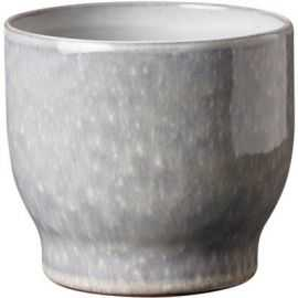Urtepotteskjuler, kalkgrå, Ø 16,5 cm
