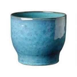 Urtepotteskjuler, støvet blå , Ø 12,5 cm