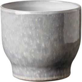 Urtepotteskjuler, kalkgrå, Ø 12,5 cm