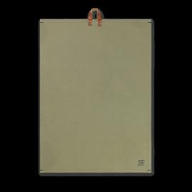 Rå Viskestykke støvet grøn 50x70 cm