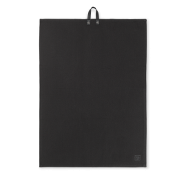 Rå Viskestykke sort 50x70 cm
