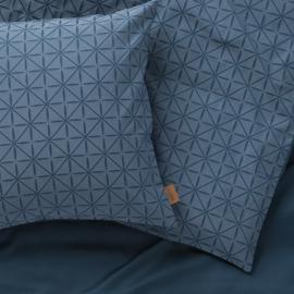 Stars Sengetøj blå 140x200 cm