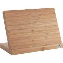 Knivblok bambus m/magnestisk overflade 30x30