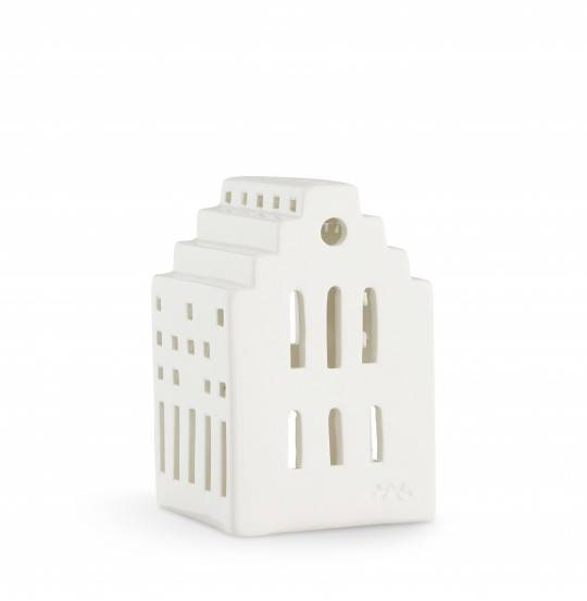 Urbania Lyshus Langkirke hvid H10,3 cm